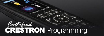 Crestron Programming Moreno Valley