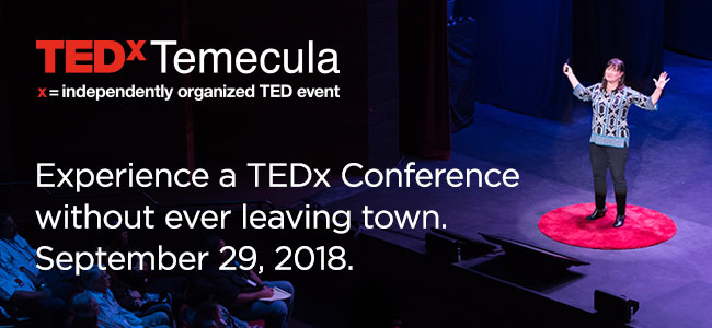 TEDxTemecula September 29th