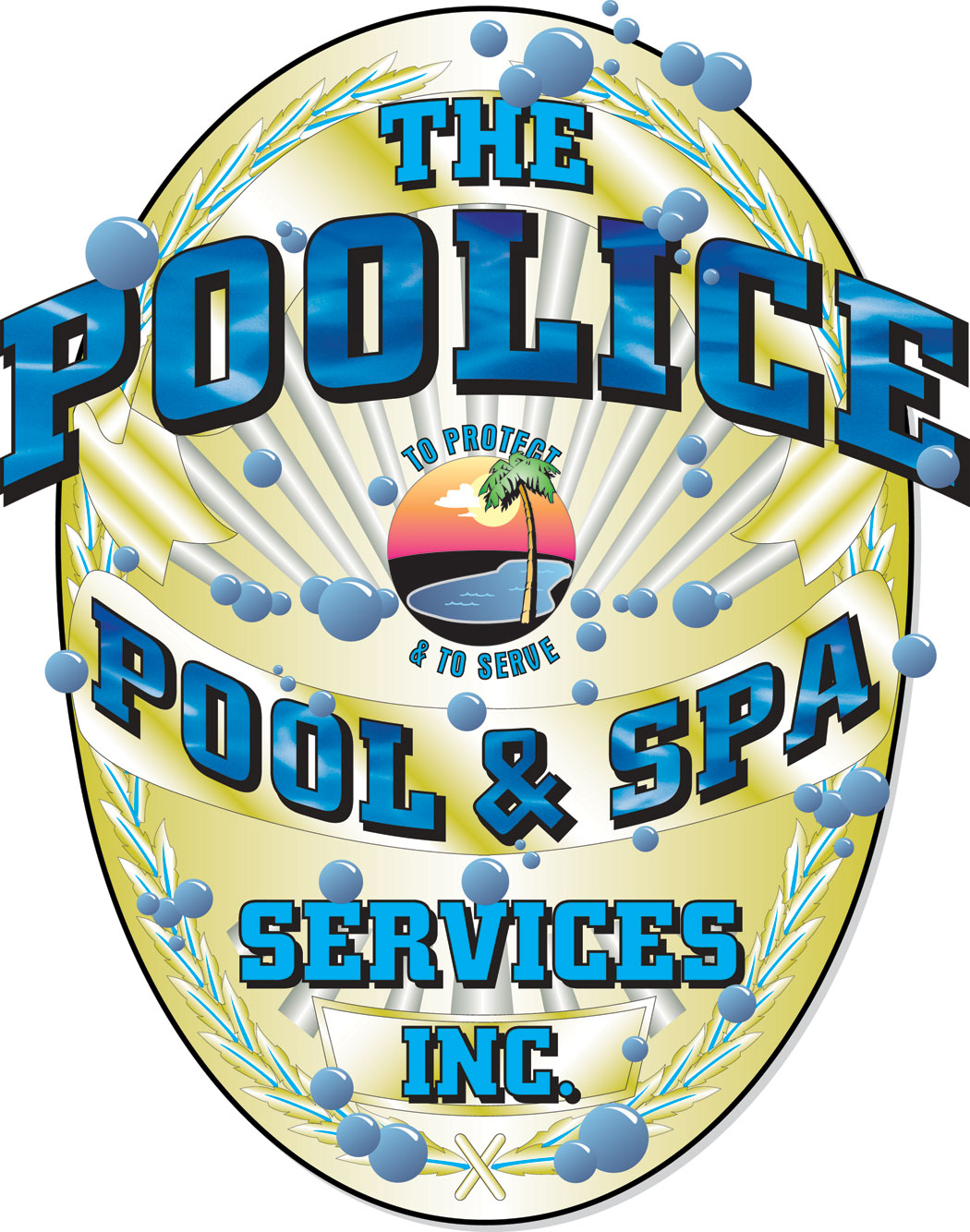 The Poolice logo