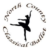 North County Classical Ballet logo
