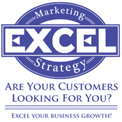 Excel Marketing Strategy logo