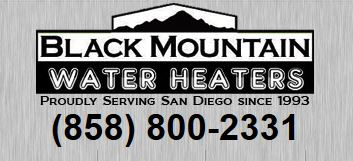 Black Mountain Water Heaters logo