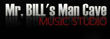 Mr. Bill's Man Cave Music Studio logo