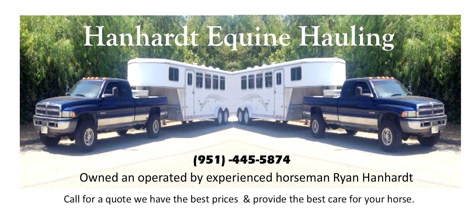 Horse Hauling Equine Shipping logo