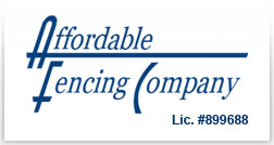 Affordable Fencing Company logo