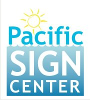 Pacific Sign Center logo