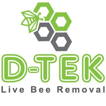 D-Tek Live Bee Removal logo