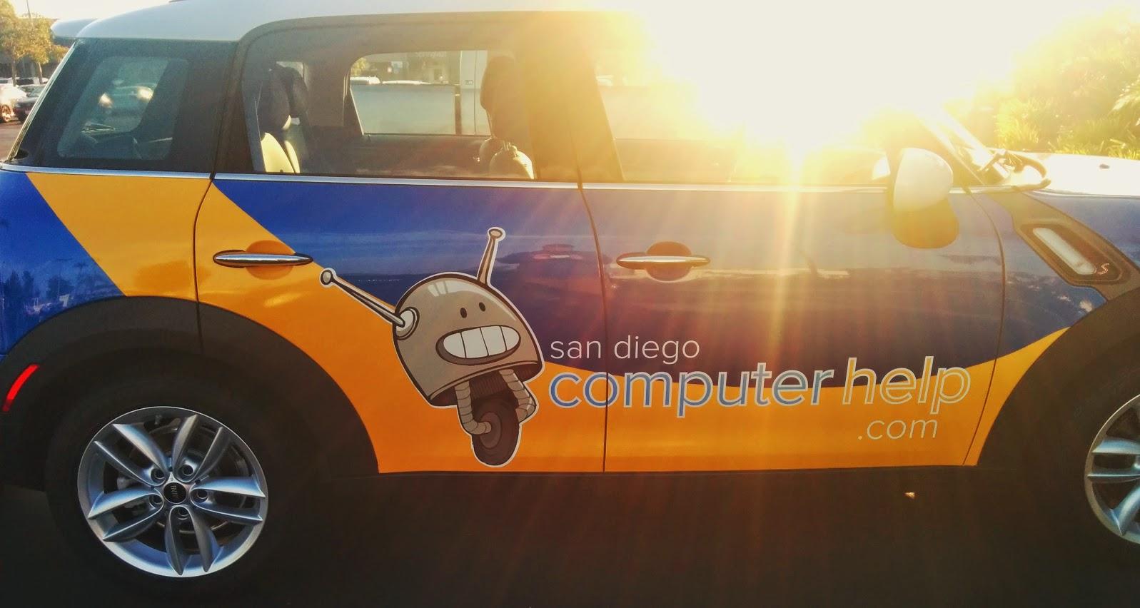 San Diego Computer Help logo