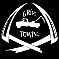 Grim Towing logo