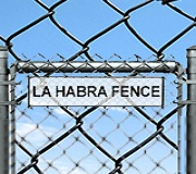 La Habra Fence Company logo