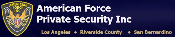 American Force Private Security Inc. logo