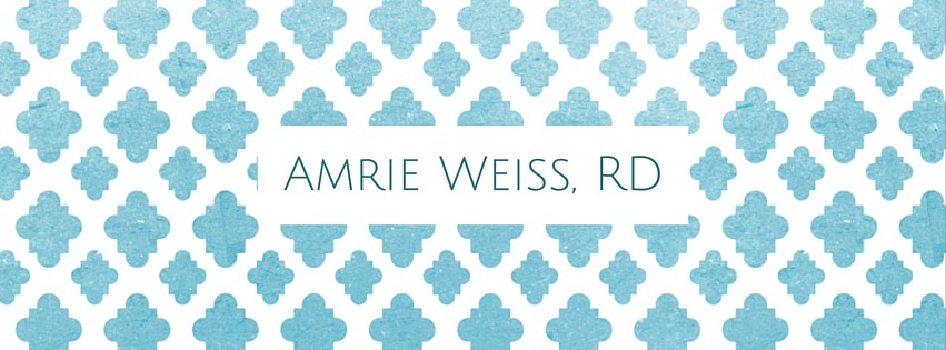 Amrie Weiss, RD logo