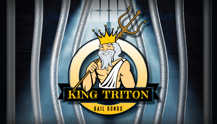 King Triton Bail Bonds logo