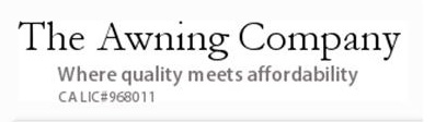 The Awning Company logo