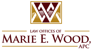 Law Offices of Marie E. Wood logo