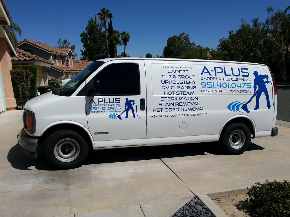 A Plus Carpet and Tile Cleaning logo