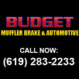 Budget Muffler Brake & Automotive logo