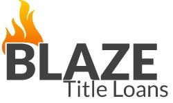 Blaze Title Loans logo
