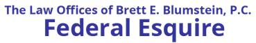 The Law Offices of Brett E. Blumstein, P.C. – Federal Esquire logo
