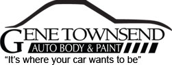 Gene Townsend Auto Body and Paint logo