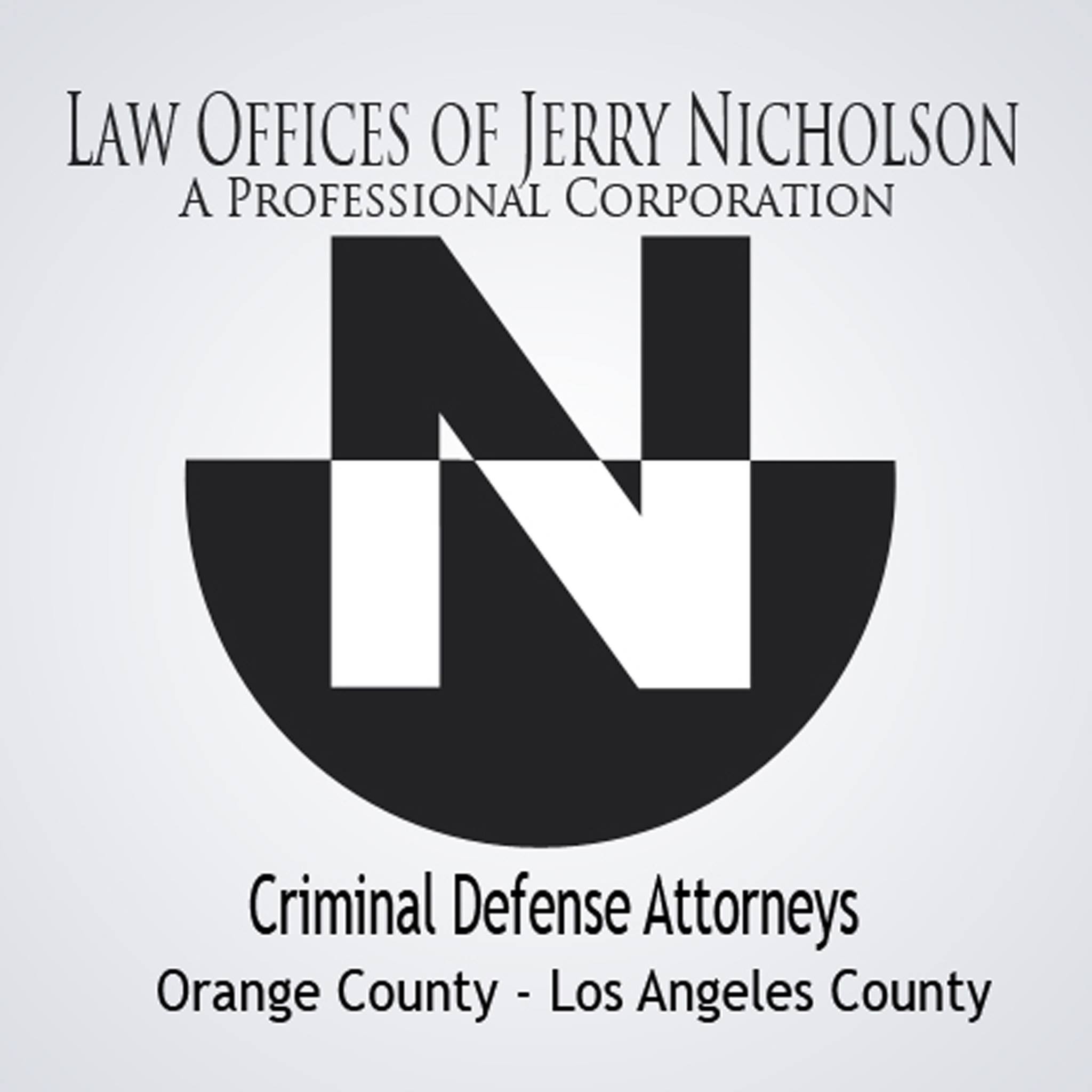 Law Offices of Jerry Nicholson, A Professional Corporation logo