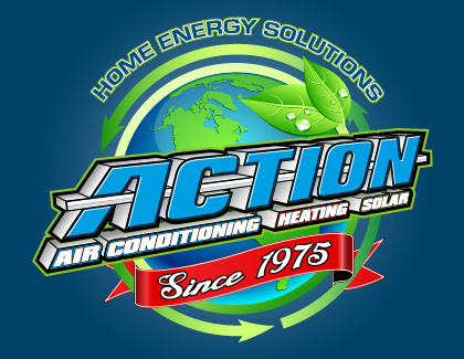 Action Air Conditioning, Heating & Solar logo