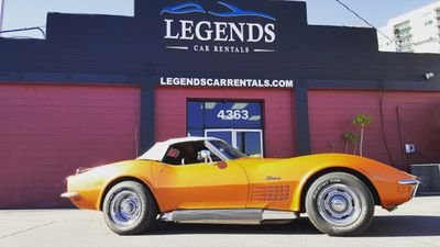 Legends Car Rentals logo