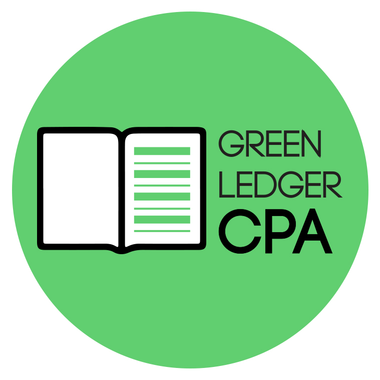 Green Ledger CPA logo