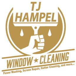 TJ Hampel, LLC, Professional Window Cleaning logo