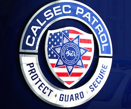Calsec Patrol Security Services logo
