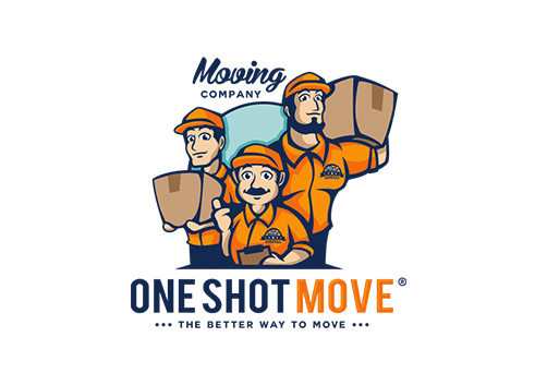 OneShotMove Moving Company logo