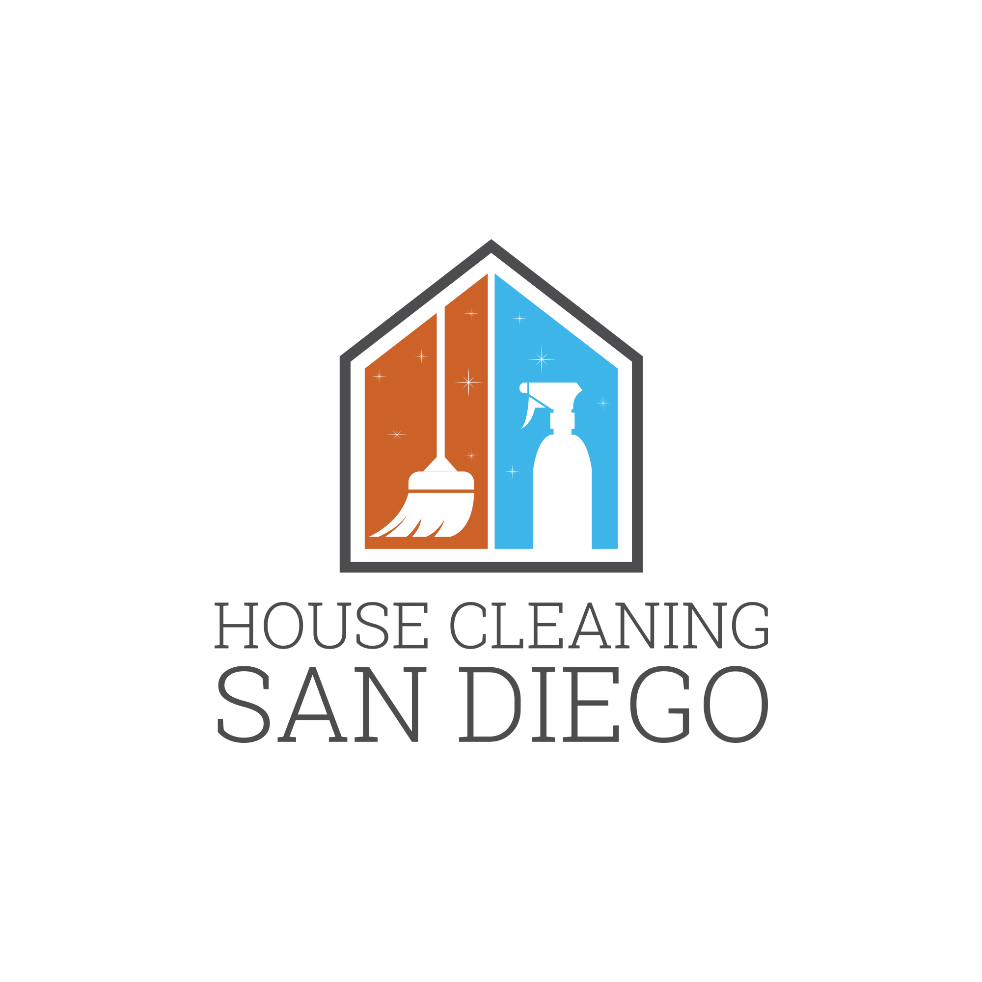 House Cleaning San Diego logo